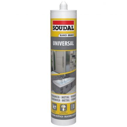 333190 silicone universal soudal branco - Aurymat