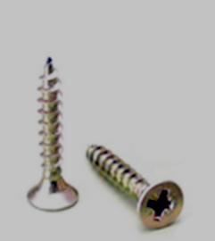Parafusos Aglomerado 5x70 Zincado (100und) - Aurymat