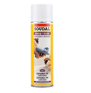 Limpa espuma poliuretano 500ml - Soudal - Aurymat