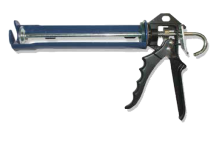Pistola silicone Profissional azul - Aurymat
