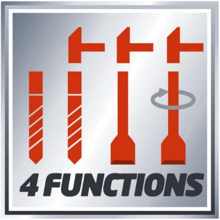 funções do martelo perfurador