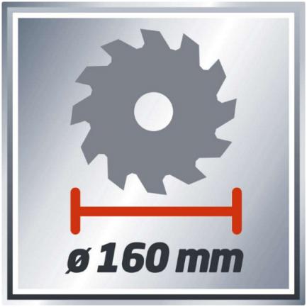 Serra Circular - TH-CS 1200/1 - Einhell - Aurymat