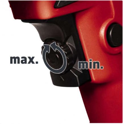 alteração de velocidade Aparafusadora Placas Gesso - TH-DY 500 E - Einhell - Aurymat
