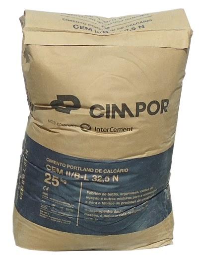 cimpor cimento escuro - saco 25Kg - Aurymat