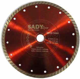 Disco diamante 115mm Sinter Turbo - Aurymat