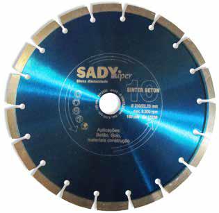 Disco diamante 230mm Sinter Beton - Aurymat