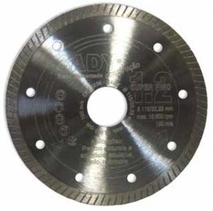 Disco diamante Turbo 115mm Super Fino - Aurymat