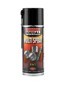 Spray Multi-Usos 400ml - Soudal - Aurymat