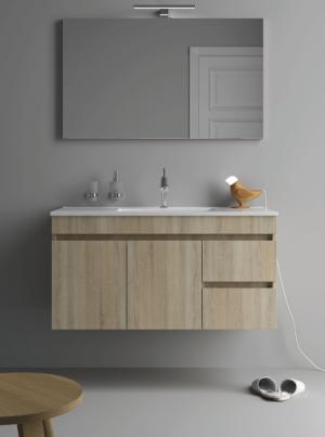 movel casa banho lavatorio maria suspenso - Aurymat