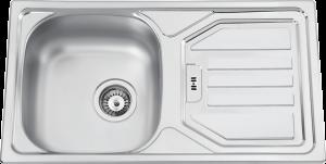 Lava Louça Flat 1Pia + 1 Escorredor 80x50 - Cozinha - Rodi - Aurymat
