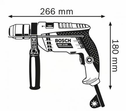 berbequim bosch gsb 13 re 4