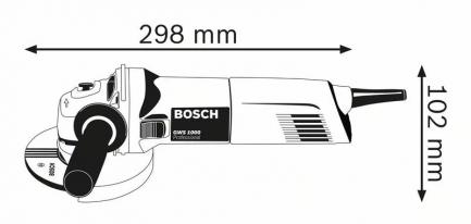rebarbadora bosch GWS 1000 1