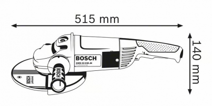 rebarbadora bosch GWS 22-230 3