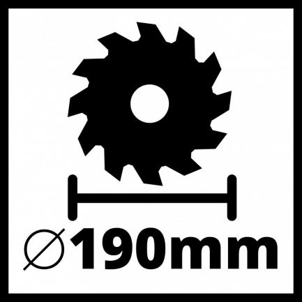 Serra Circular TE-CS 190 1 einhell 2