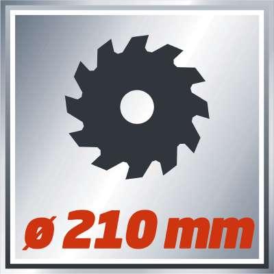 Serra de meia-esquadria TC-SM 2131 Dual einhell 3