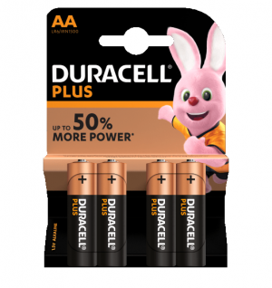 duracell plus power AA - Aurymat
