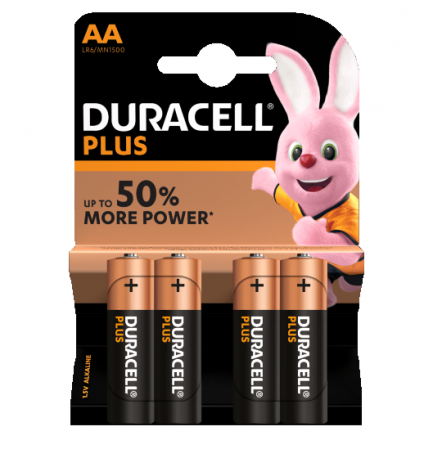 duracell plus power AA - Aurymat
