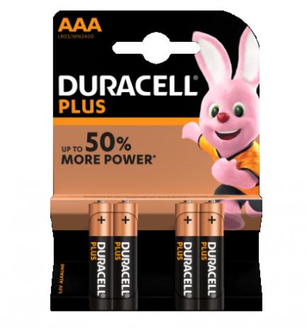 duracell plus power AAA - Aurymat