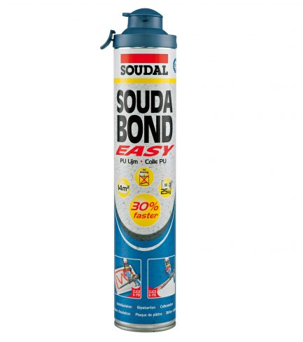 espuma soudabond easy adesivo soudal - Aurymat