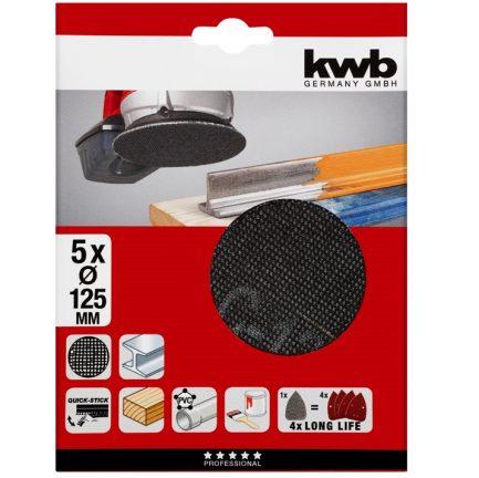 lixa abrasiva rotativa kwb - Aurymat