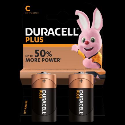 pilha duracell plus power C - Aurymat
