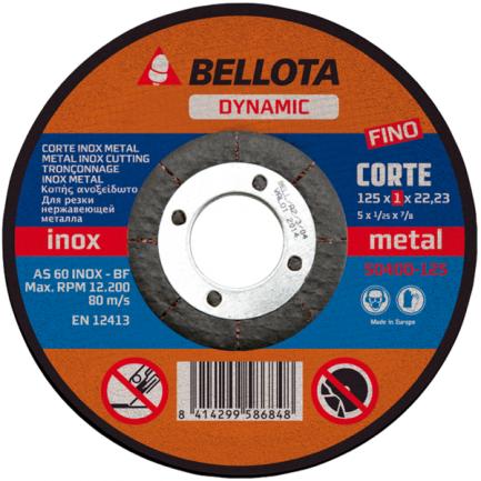 disco corte inox bellota 50400115 - Aurymat