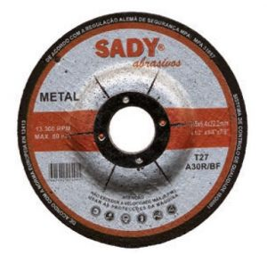 disco de rebarbar metal - Aurymat