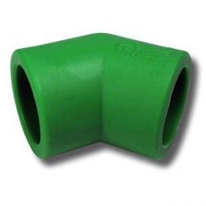 joelho 45 ppr verde - Aurymat