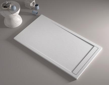 Base Duche Smart Branco texturada - Casa de banho - Aurymat