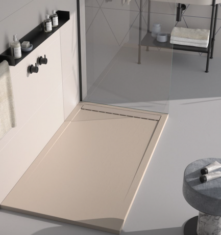 Base Duche Smart Creme - WC - Aurymat