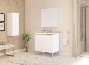 Móvel casa banho - canical com pés - AuryMat