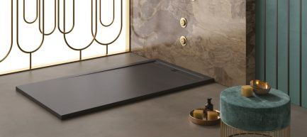 Base de duche CACH antracite lisa - casa de banho - Aurymat