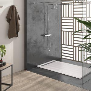 Base de duche CACH branca - casa de banho - Aurymat