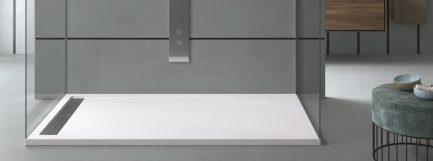 Base de duche CACH branca lisa 2 - casa de banho - Aurymat