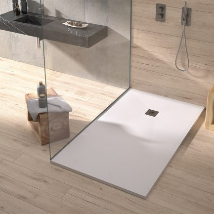 Base de duche PLUS Branca 3- Casa de banho - Aurymat
