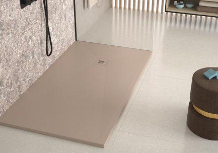 Base de duche PLUS Moca texturada - Casa de banho - Aurymat