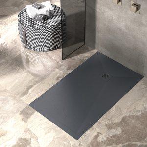 Base de duche PLUS Preta texturada- Casa de banho - Aurymat