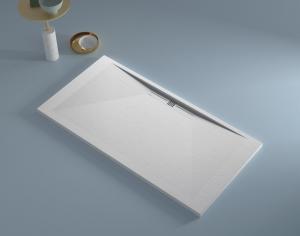 Base de duche Side branca Texturada - Casa de banho - Aurymat