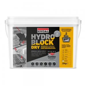 Impermeabilizante Hydro Block Dry 20kg - Soudal - Aurymat