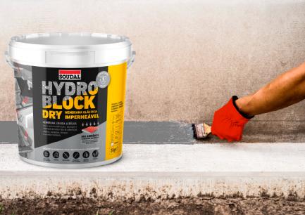 Impermeabilizante Hydro Block Dry 5kg - Soudal - Aurymat 2
