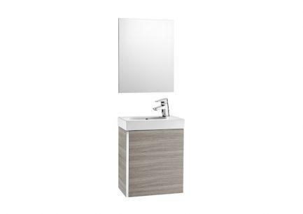 Móvel Casa de banho e espelho Unik Mini Areia Texturada - ROCA - Aurymat