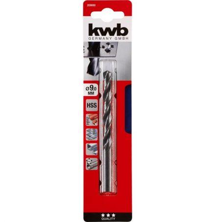 Broca Laminada HSS para metal blister - KWB - Aurymat