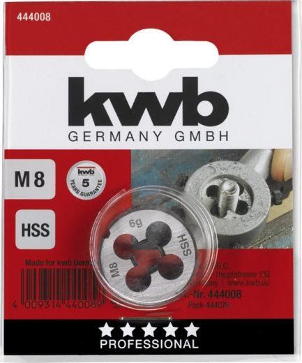 Embalagem Caçonete para roscas HSS - KWB - Aurymat
