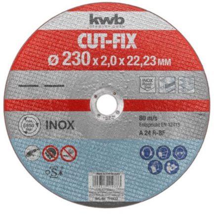 disco corte inox 230 kwb 711933