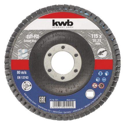 disco de lamelas kwb 2