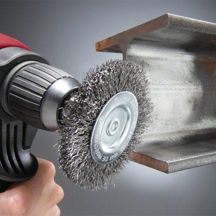 escova aço circular kwb