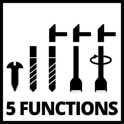 5 funcoes einhell