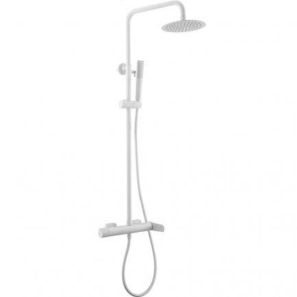 Rampa duche com torneira Dinamarca Branco Mate - wc - Aurymat