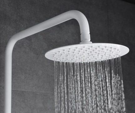 Rampa duche com torneira Dinamarca Branco Mate - wc - Aurymat 5