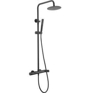 Rampa duche com torneira Dinamarca Preto Mate - wc - Aurymat